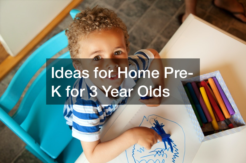 Ideas for Home Pre-K for 3 Year Olds